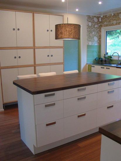 Lotta Agaton Kok : rullbord kok ikea  Kokso Ikea I vort nybyggda hus